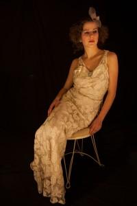 Sara shot by Anton Volek, wedding dress