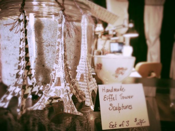 Eiffel Towers!